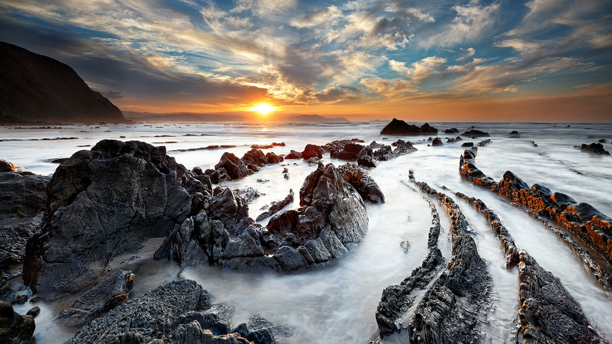 Photograph Jurassic Sunset by Carlos Resende on 500px