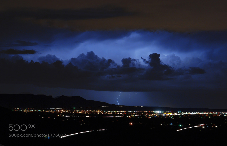 Photograph Lightning over Sierra Vista, Arizona by John  Forrey on 500px