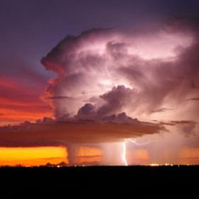 Lightning over Tucson, Arizona by John  Forrey on 500px.com