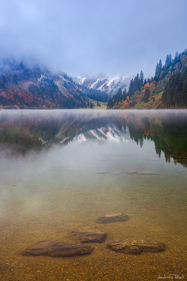 Photograph Vilsalpsee by Andreas Resch on 500px