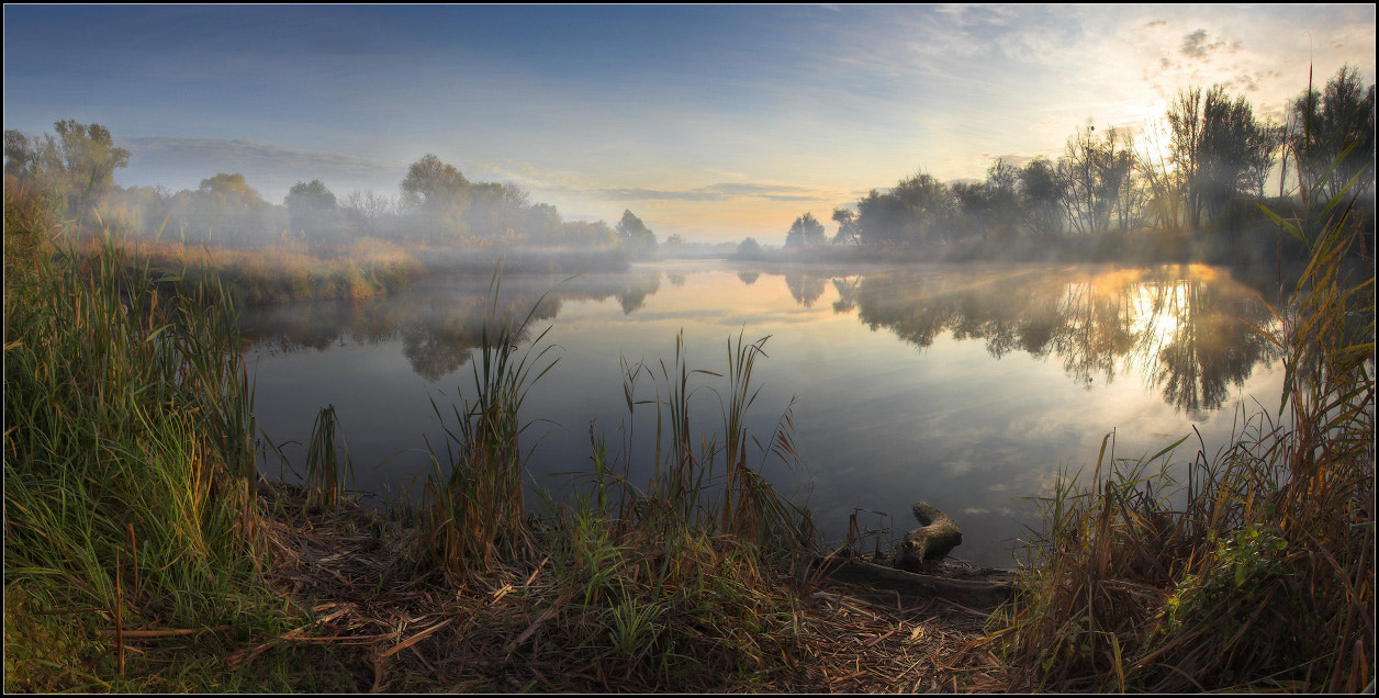 Photograph Landscape in the autumn fishing... by Alexander Kitsenko on 500px