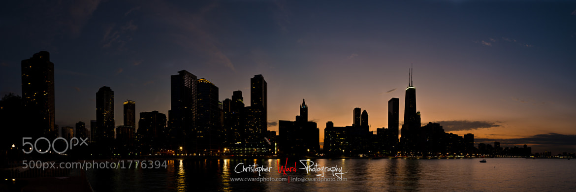 Photograph Chicago Skyline Panorama by Chris Ward on 500px