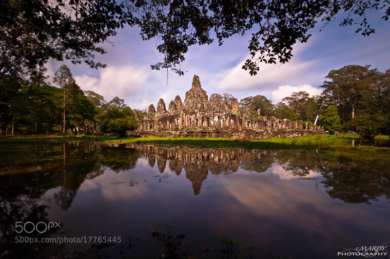 Photograph Amazing of Bayon Temple! by Mardy Photography on 500px