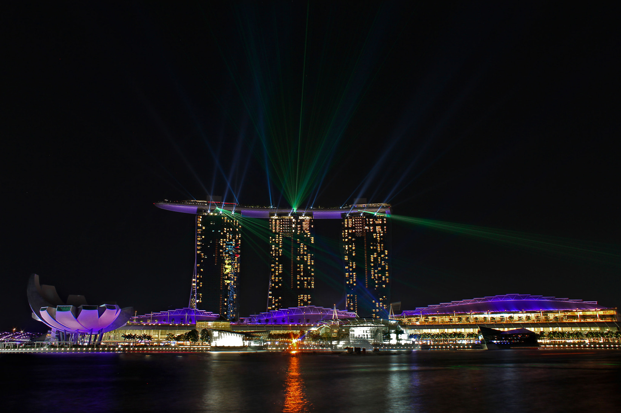 Photograph Marina lights by Carlos Luque on 500px