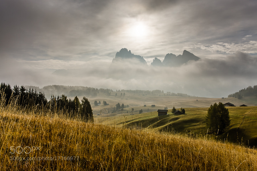This photo was taken on the last morning of the Dolomites October 2012 photo workshop.