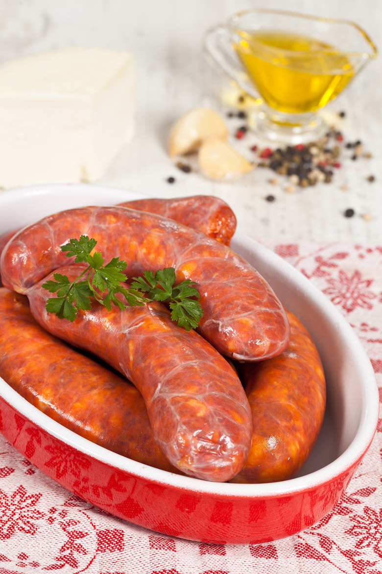 Photograph Raw italian sausage by Sabino Parente on 500px