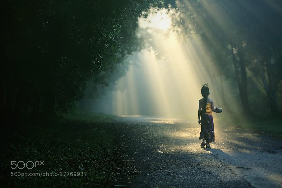 Photograph Going to Melasti Ceremony by asit  on 500px