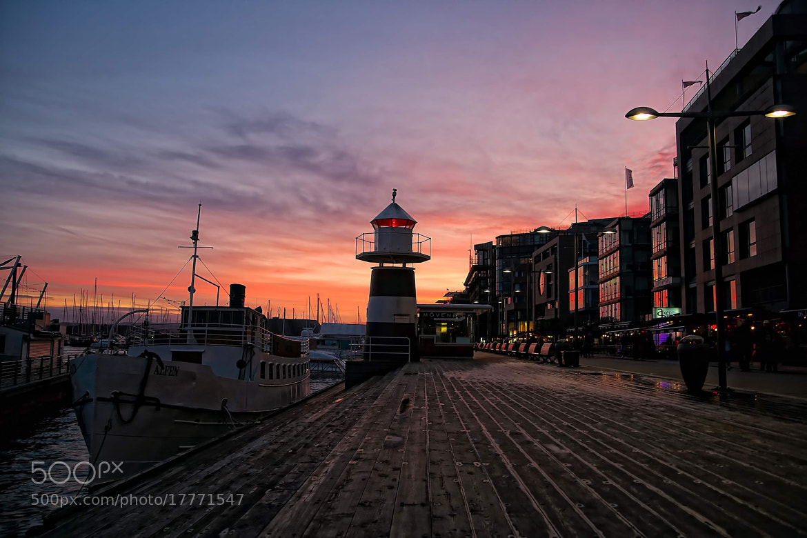 Photograph Aker Brygge by Paolo Trofa on 500px