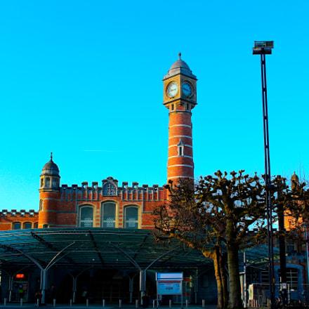 Gare de St Pierre (sint pieters) à Gand, Belgique