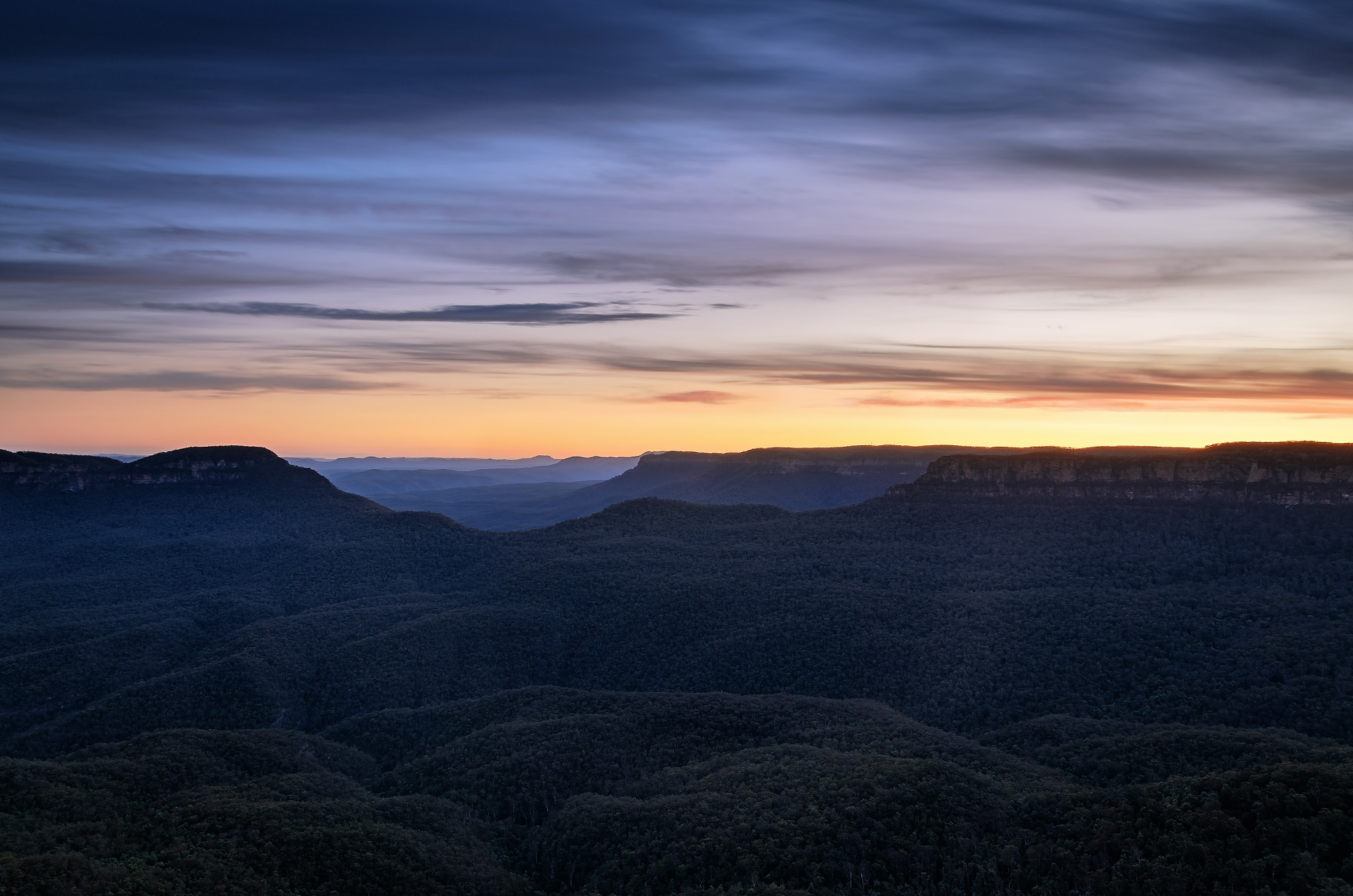 Photograph Blue Moutains by Daniel Beck on 500px