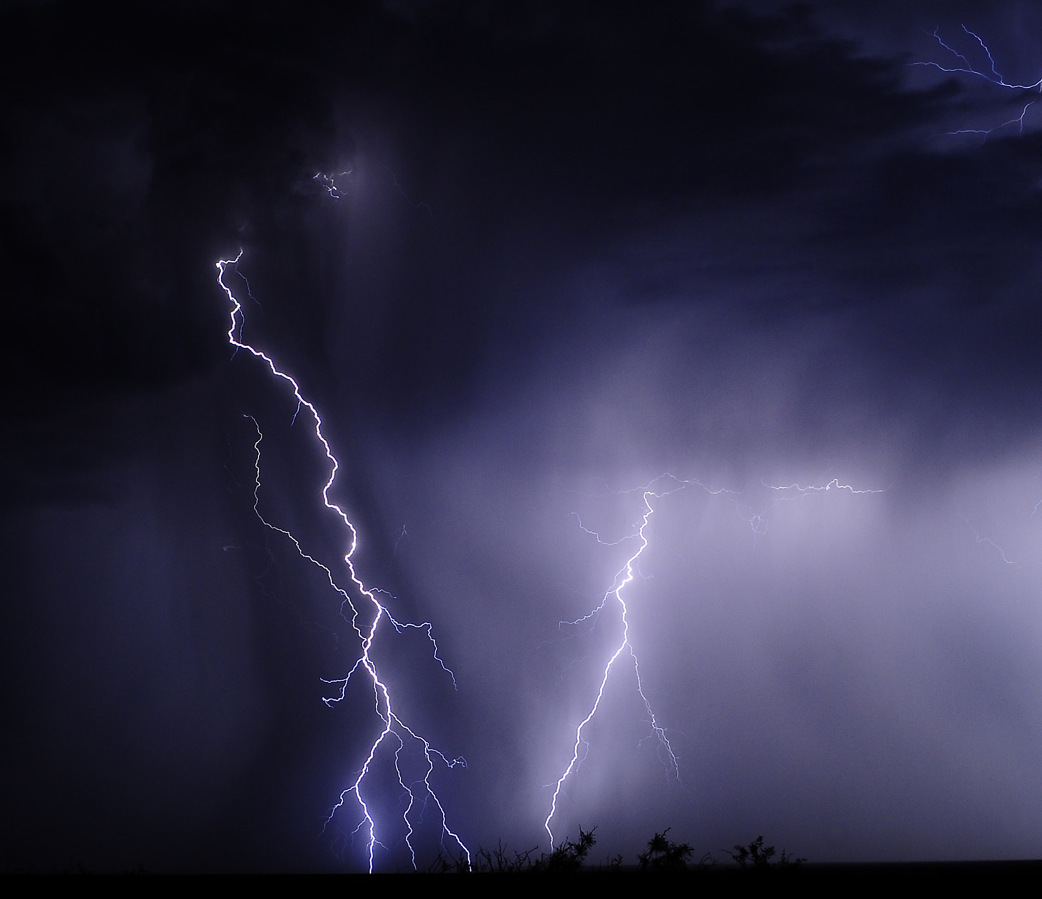 Photograph Lightning Column by John  Forrey on 500px