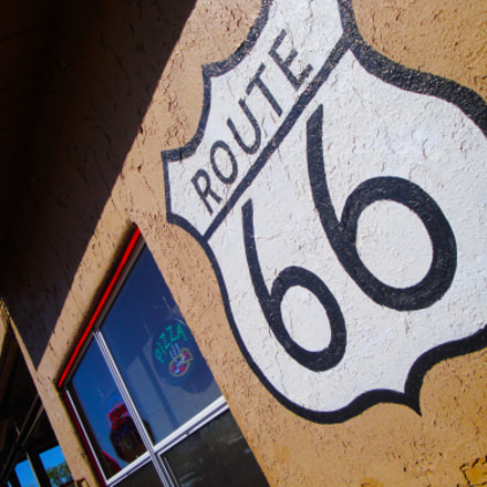 Route 66, Seligman, Arizona, Sony DSC-W270