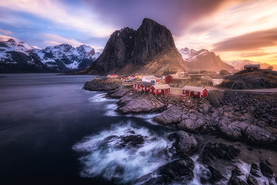 A Morning in Hamnoy by Daniel F. on 500px.com