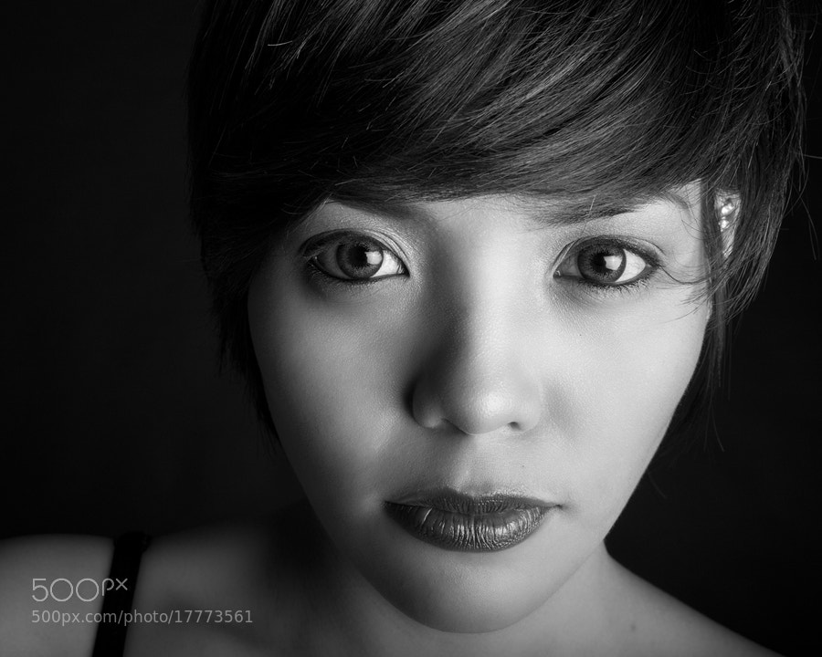 Photograph Look into my eyes by Melv Pulayan on 500px