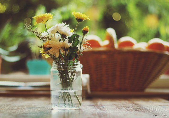 Photograph Flowers and oranges by Nina's clicks on 500px