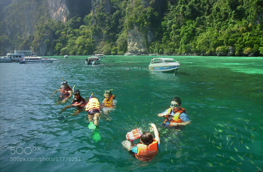 Photograph Snorkelling by Khoo Boo Chuan on 500px