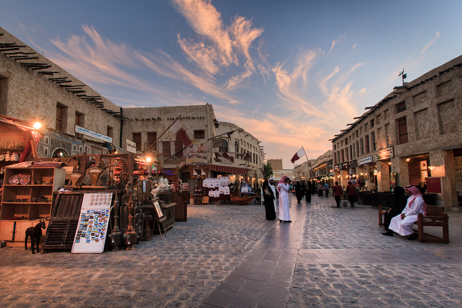 Photograph Sunset at Souq Waqif by Helminadia Ranford on 500px