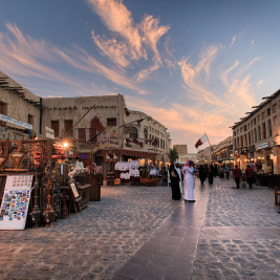 Sunset at Souq Waqif by Helminadia Ranford (Helminadia_Ranford)) on 500px.com