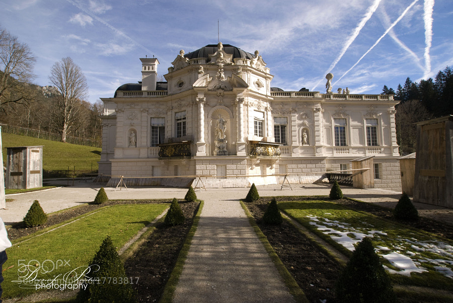 Photograph Linderhof and the garden. by Daniele Pastore on 500px