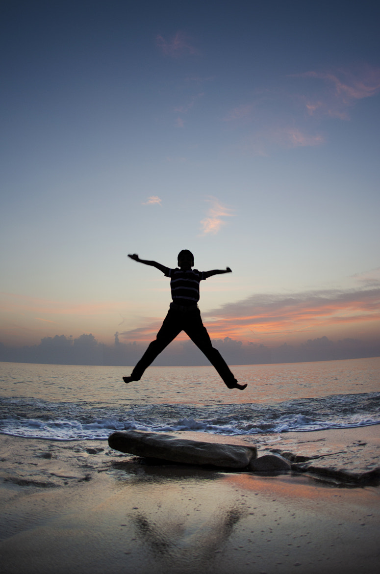 Photograph Happy jump by Sreeraj M on 500px