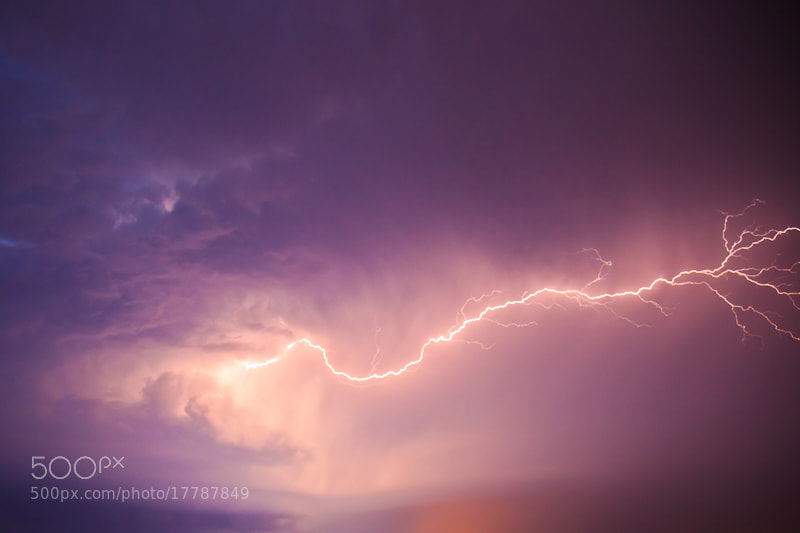 Photograph Thunder by Dean Grzanic on 500px