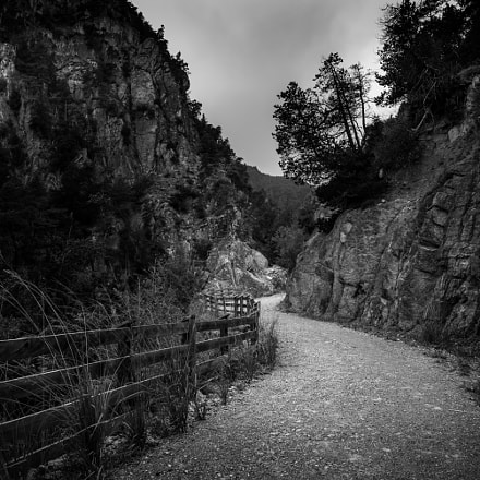 Through the mountain