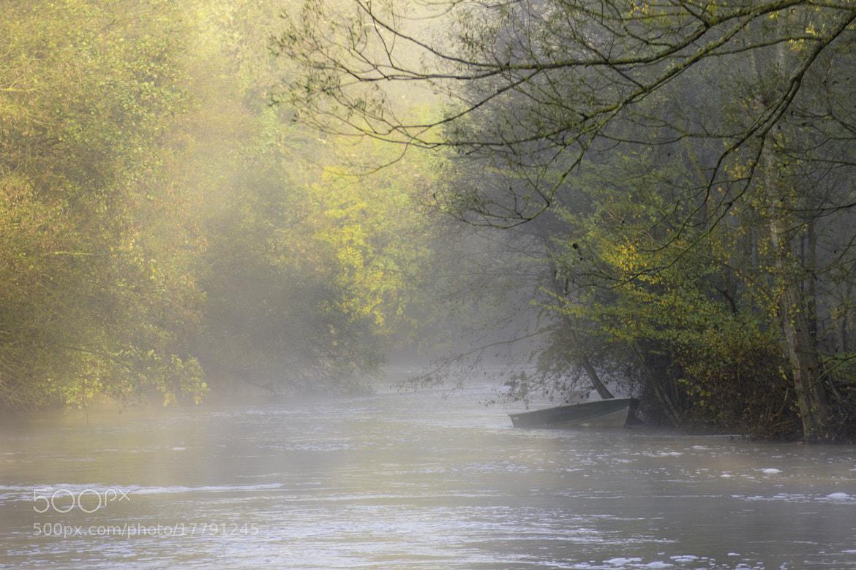 Photograph Rivière dans la brume by Lucien Vatynan on 500px