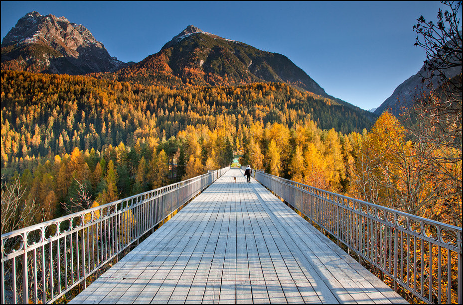 Photograph Bridge to Fall by Jan Geerk on 500px