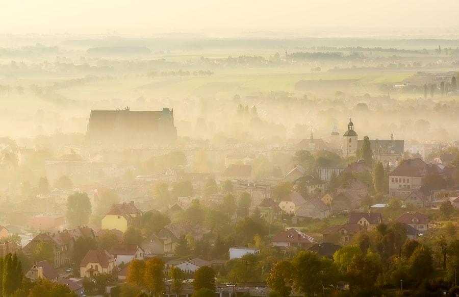 Dawn in Lower Silesia