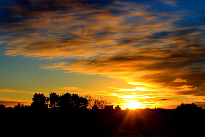 Photograph Sunset  by Lucie Breton on 500px
