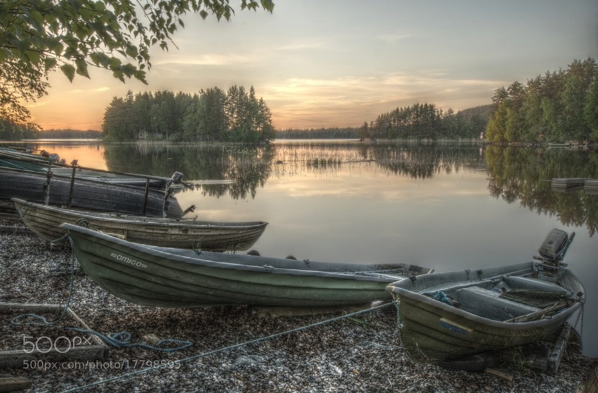Photograph Boats at Sunset by Petri Damstén on 500px