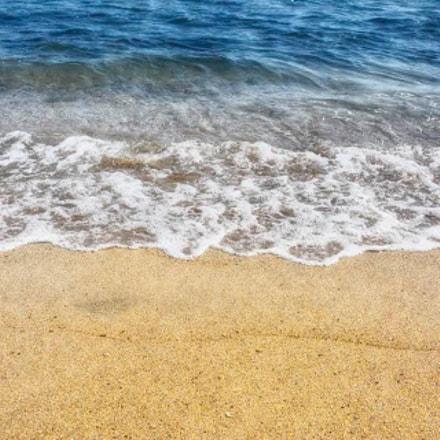 """Beach of """"trois bassins"""""""