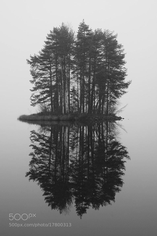 Photograph Island in Fog by Petri Damstén on 500px