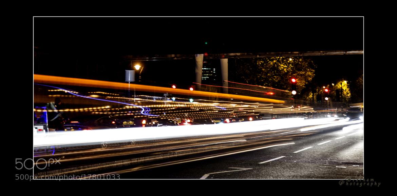 Photograph Night Time Rush by Lol Beacham on 500px
