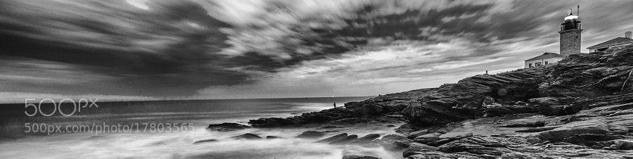 Beavertail Lighthouse Panoramic