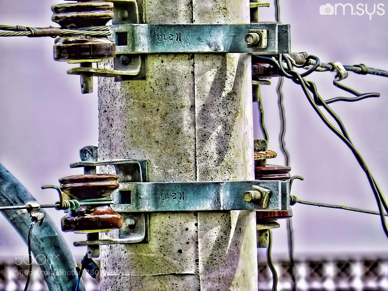 Photograph Fiação no Poste em HDR by Mauro Clemente on 500px