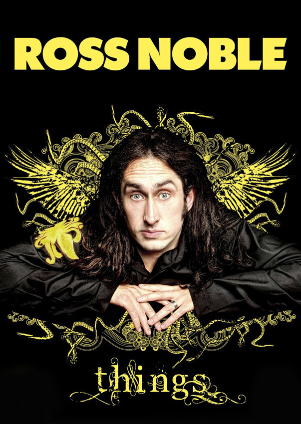 Photograph ross noble > 'things' dvd by Andy Hollingworth on 500px