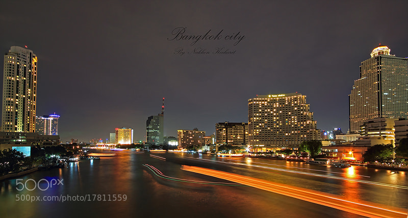 Photograph Bangkok city by Nakhon Kocharit on 500px