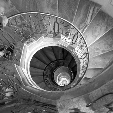 Treppe im Stift Melk