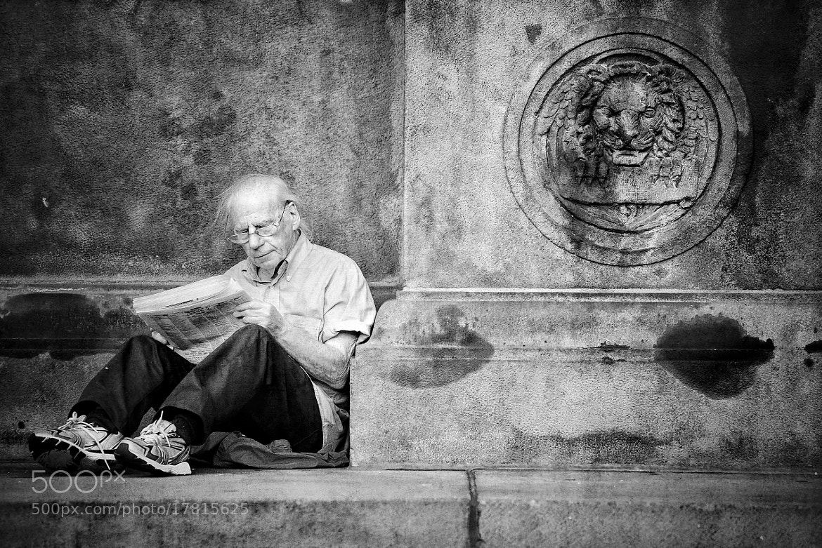 Photograph The News by B C on 500px