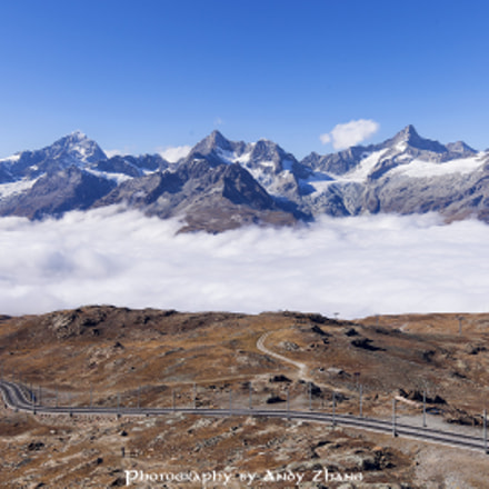Above the clouds, Canon EOS 5D MARK II