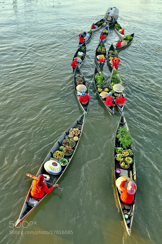 Photograph Floating Market by anas topbgt on 500px