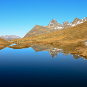 autumnreflection by helmut flatscher (netrebkofan)) on 500px.com