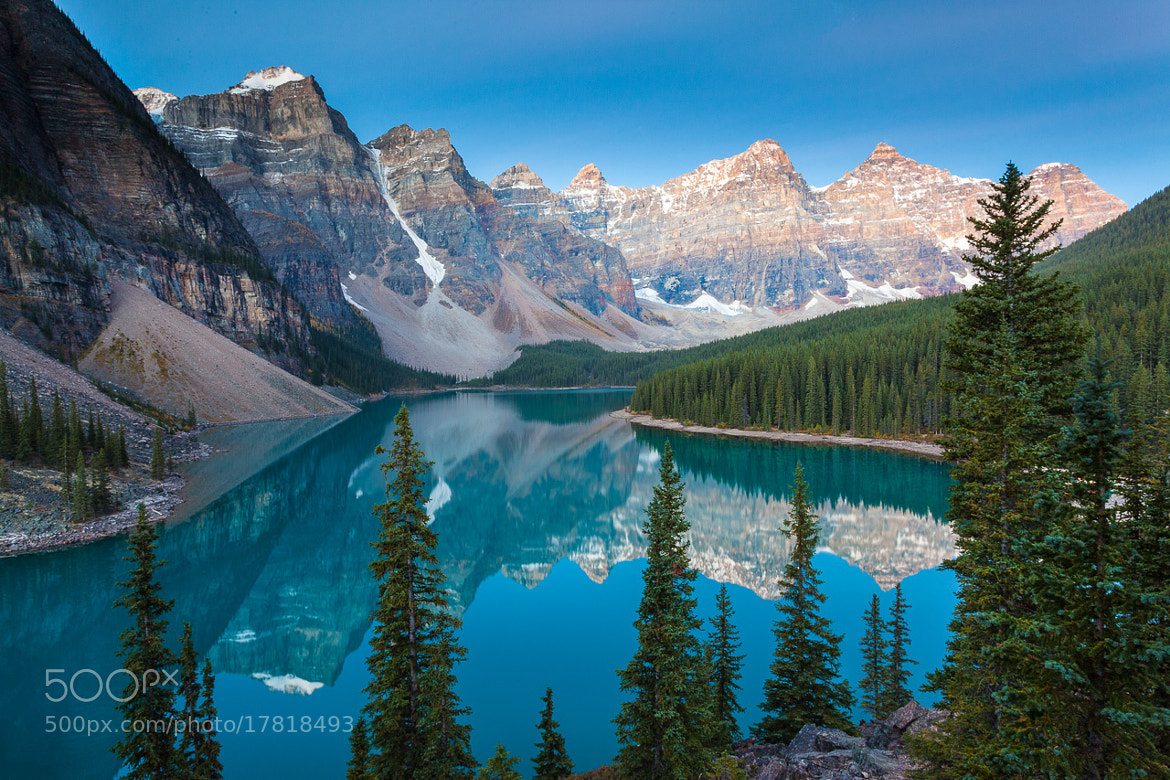 Photograph Moraine Lake by Daniel Guinn on 500px