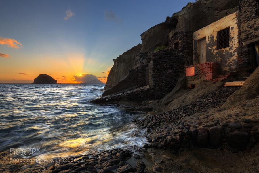 Sunset in Pollara