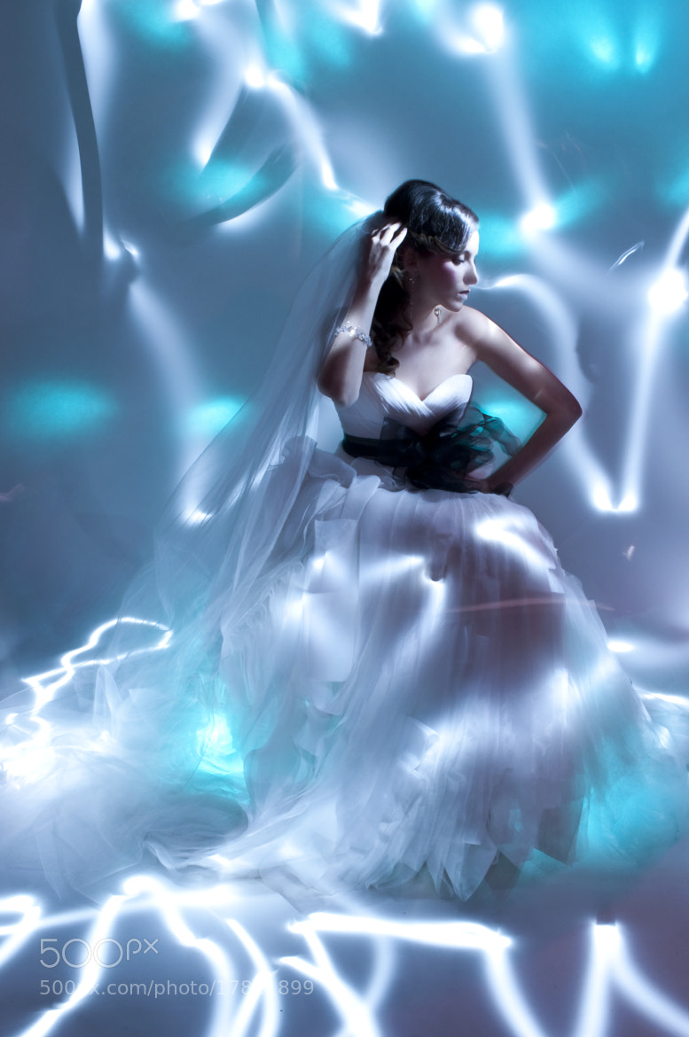 Photograph Painting with light Bridal by Anna Krasnova on 500px