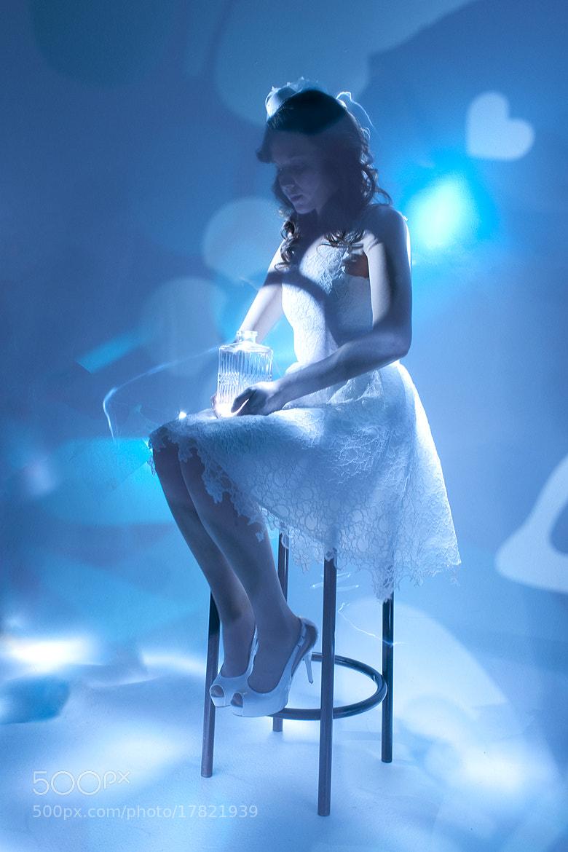 Photograph Painting with light through stencils by Anna Krasnova on 500px