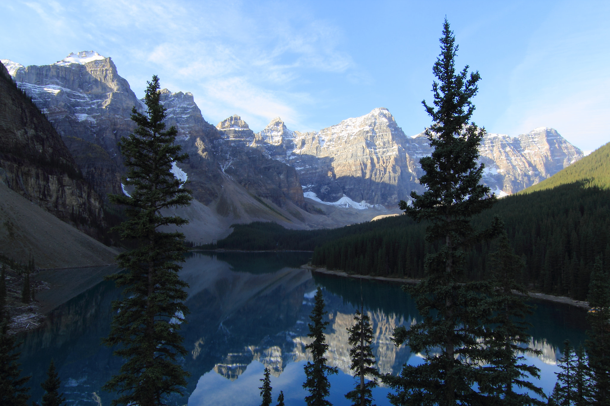 Photograph Morning light at Moraine Lake by Eva Lechner on 500px