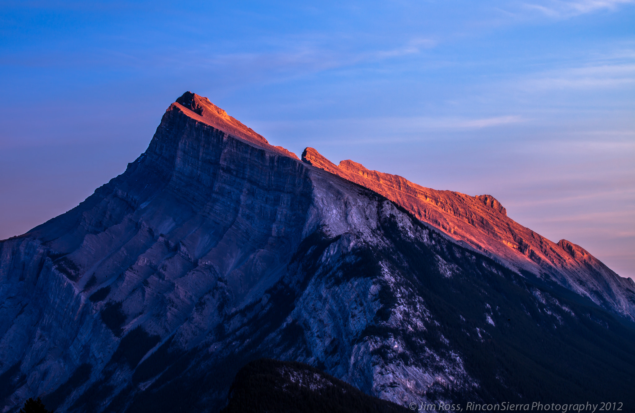 Photograph Mount Rundle Sunset!!! by Jim Ross on 500px