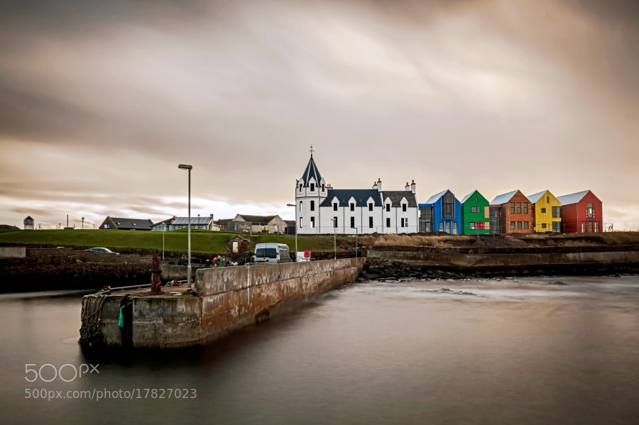 Photograph John O'Groats Harbour by Zain Kapasi on 500px